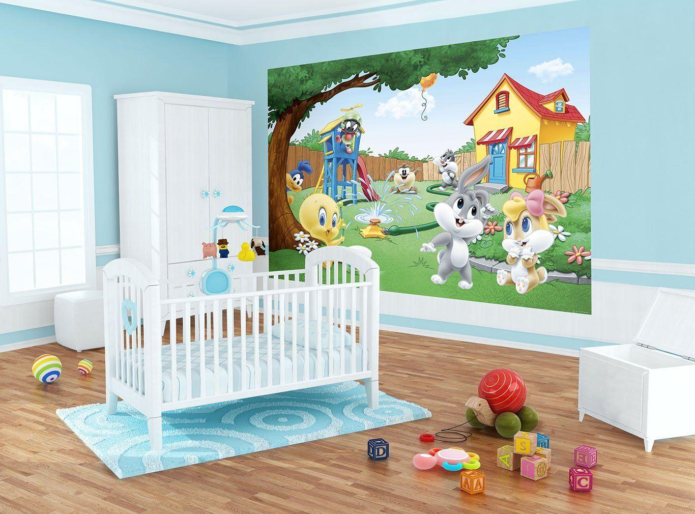 Looney Tunes Baby Garden Wallpaper Mural Co Uk Diy Tools