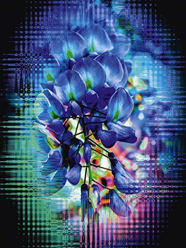 Premium Glasbilder Artland Glas Bild Gunstig Blumen Pflanzen Blumen Walter Zettl Bluhende Fantasie 3 Grosse 80 X 60 Leinwandbilder Abstrakt Glasbilder Bilder