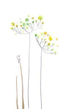 Fleurs11 Crtezi Drawings Blumen Aquarell Malen Fur
