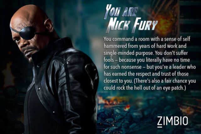 Don't like the character but love the description
