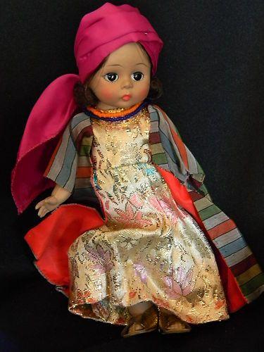 "Vtg RARE Madame Alexander Kins MOROCCO doll bent knee 8"" Near Mint! 1968-70"