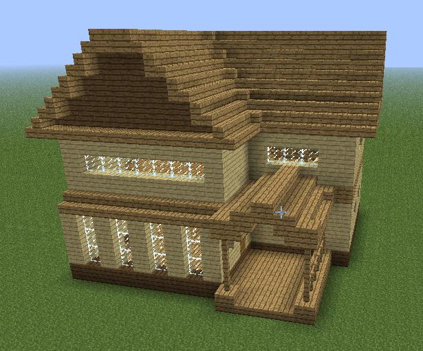 Minecraft House Dark Oak Google Search Minecraft Houses Blueprints Minecraft House Blueprints