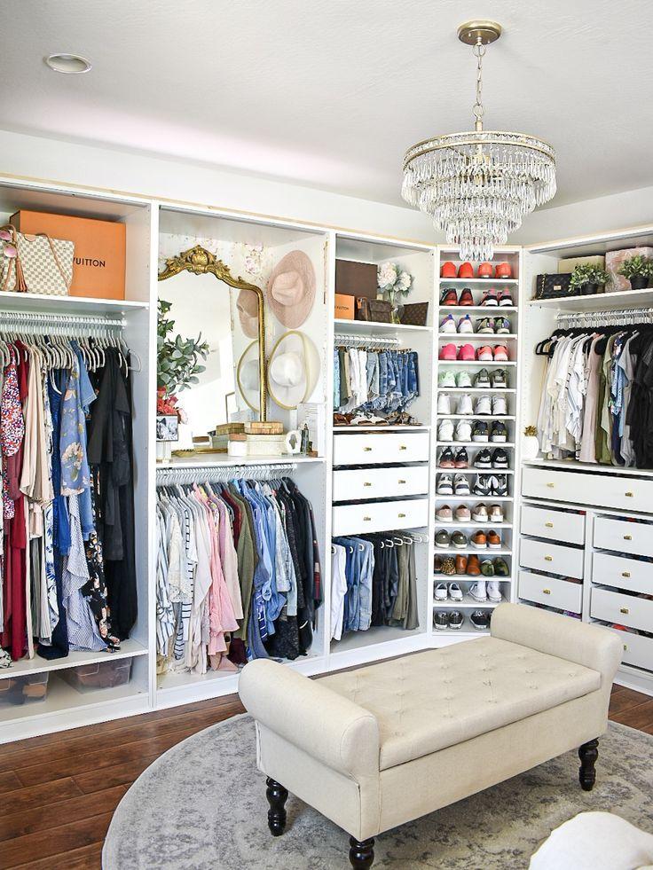 Choosing My Closet Chandelier With Crystorama