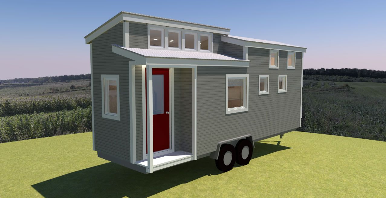 The Potter Valley Is A 24 Feet Long Tiny House And