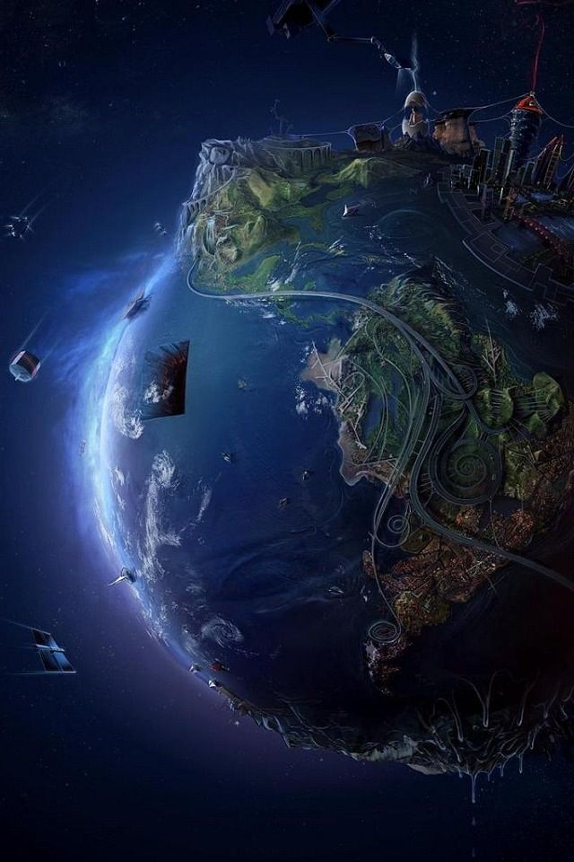 3D Earth / Iphone Wallpaper  iPhone Wallpapers in 2019
