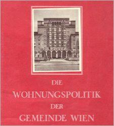 Die Wohnungspolitik Der Gemeinde Wien Httponfbmemvoe1927 1934