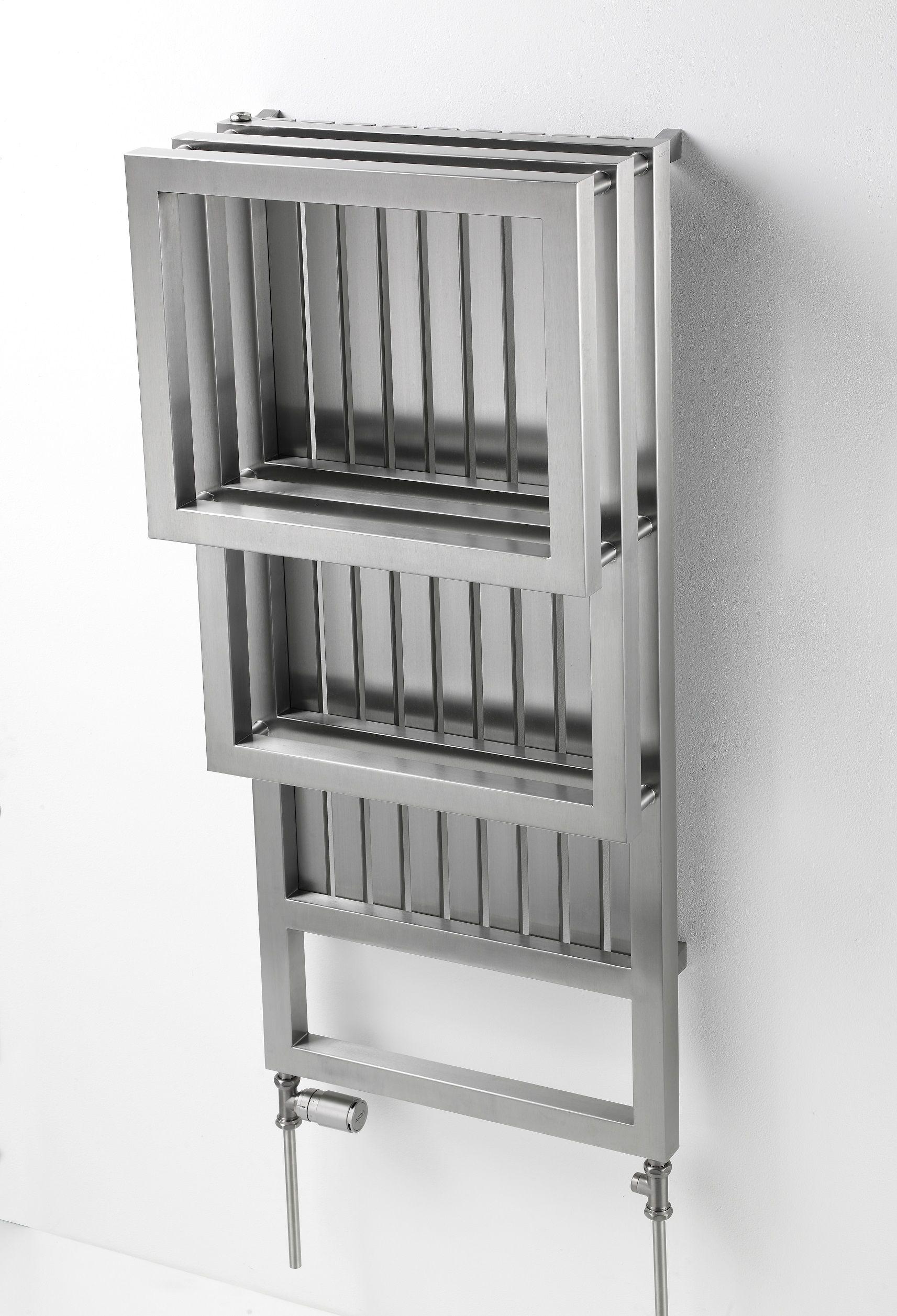 Bosphorus TR design radiator badkamer RVS 1200x530 | Sanitair ...