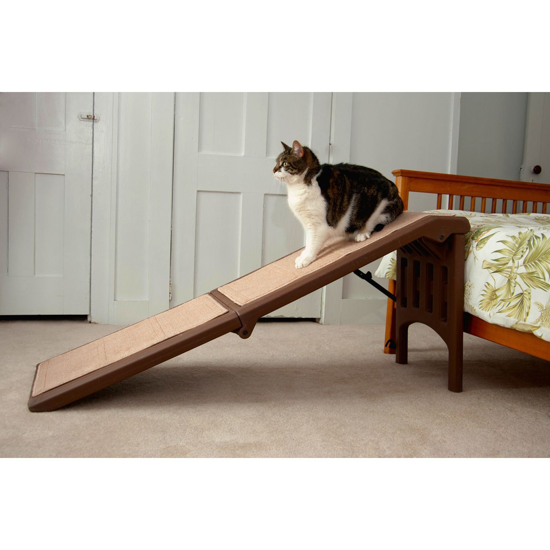Pet Gear Free Standing Pet Ramp In Chocolate 56 L X 16 W X 23 H Petco Pet Ramp Pet Gear Dog Stairs