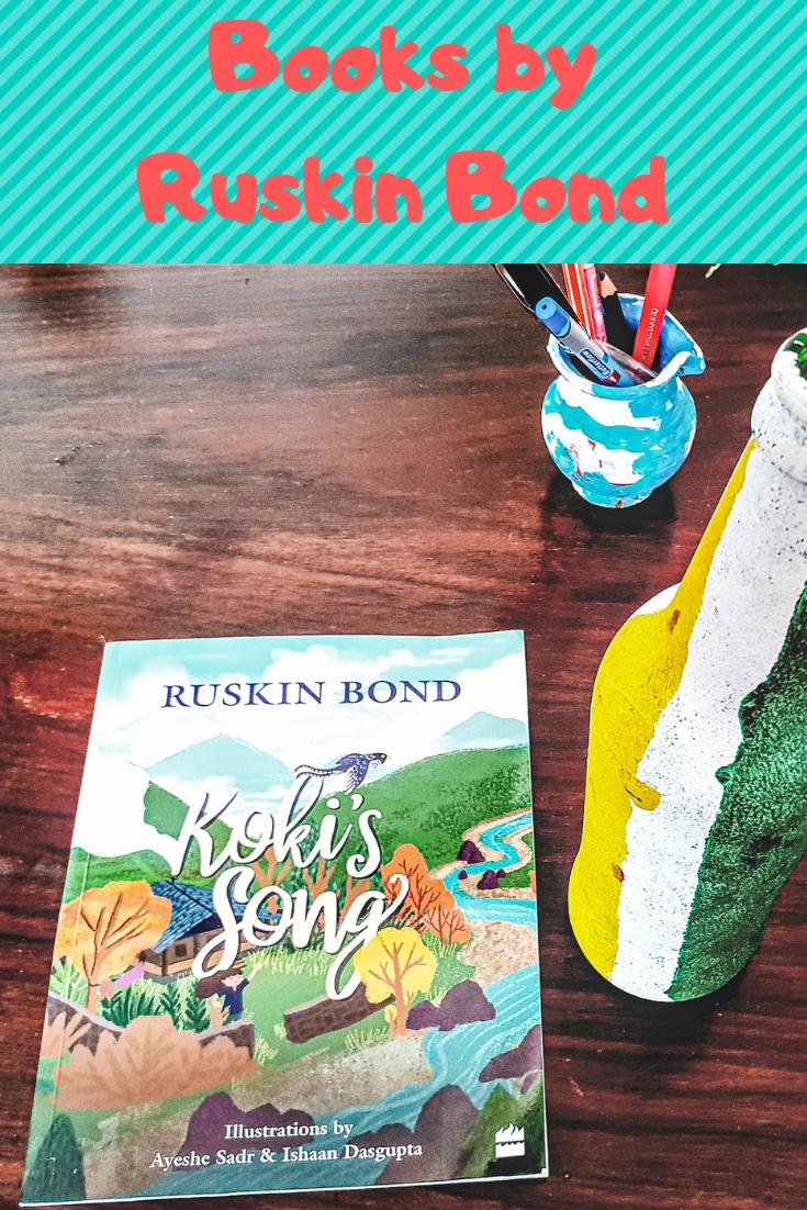 Pin By Aditi Gunjan On Bond In 2020 Ruskin Bond Latest Books Books