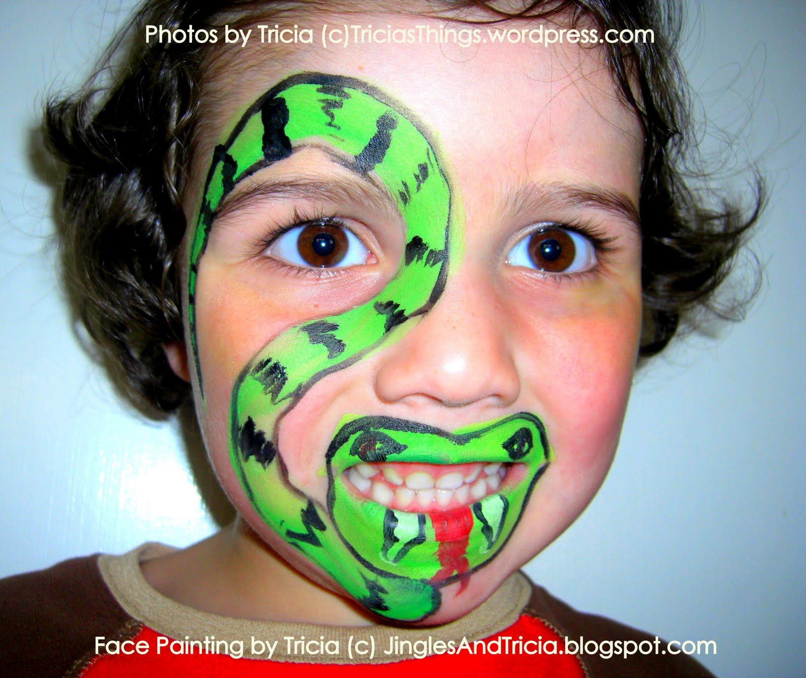 Uncategorized Easy Face Painting For Boys fun and creative snake face painting to celebrate the new year year