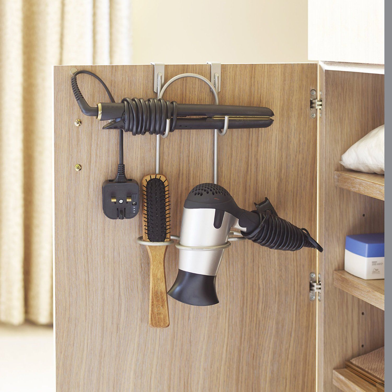 Lakeland Over Door Hanging Style Tidy for Hairdryers &amp ...