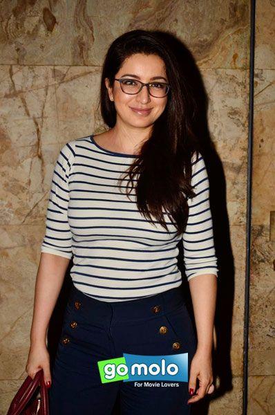 Tisca Chopra at the Screening of Hindi movie 'Khoobsurat' at Light Box in Mumbai
