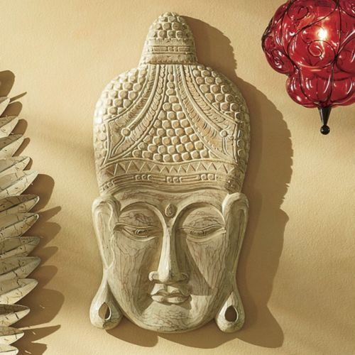 Hand-Carved Buddha Wall Art from Seventh Avenue ® | Style & Texture ...