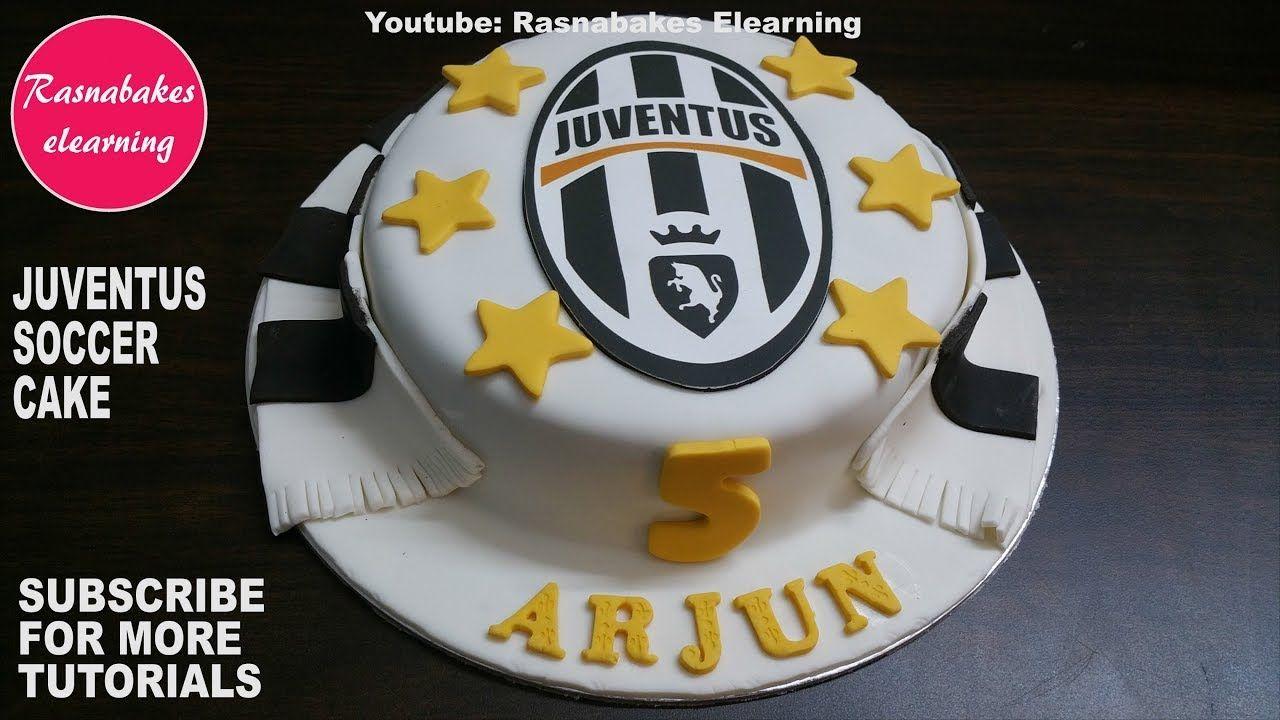 Juventus soccer game birthday cake with jersey logo:juve ...