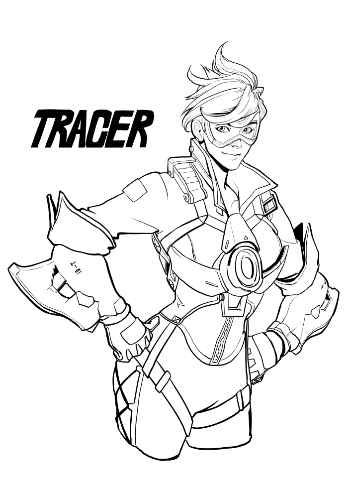 Overwatch Coloring Pages Coloring Pages For Kids Cool Coloring Pages