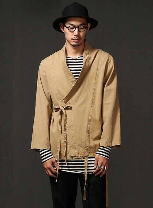 Mens Haider Kimono Shirt Cardigan At Fabrixquare Fashion For Him