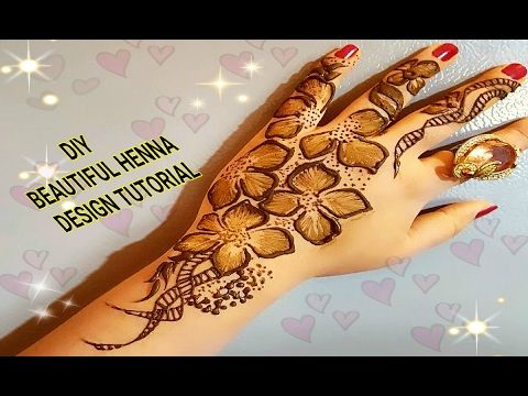 Easy Mehndi Tutorial : Diy beautiful easy mehndi design tutorial asian art