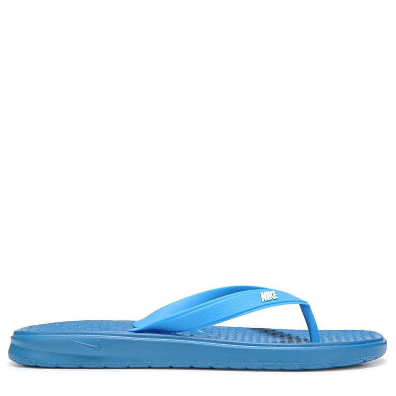f78c4cf38 Nike Kids  Solay Thong Sandal Pre Grade School Sandals (Industrial  Blue Whit) - 5.0 M