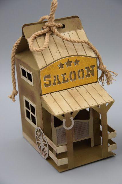 Herzlich Willkommen Beim Papierfraulein Ein Cowboy Feiert