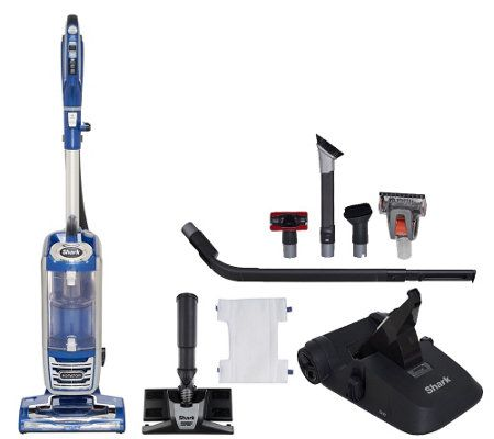 Shark Rotator Powered Lift Away Deluxe Vacuum W 8 Attachment