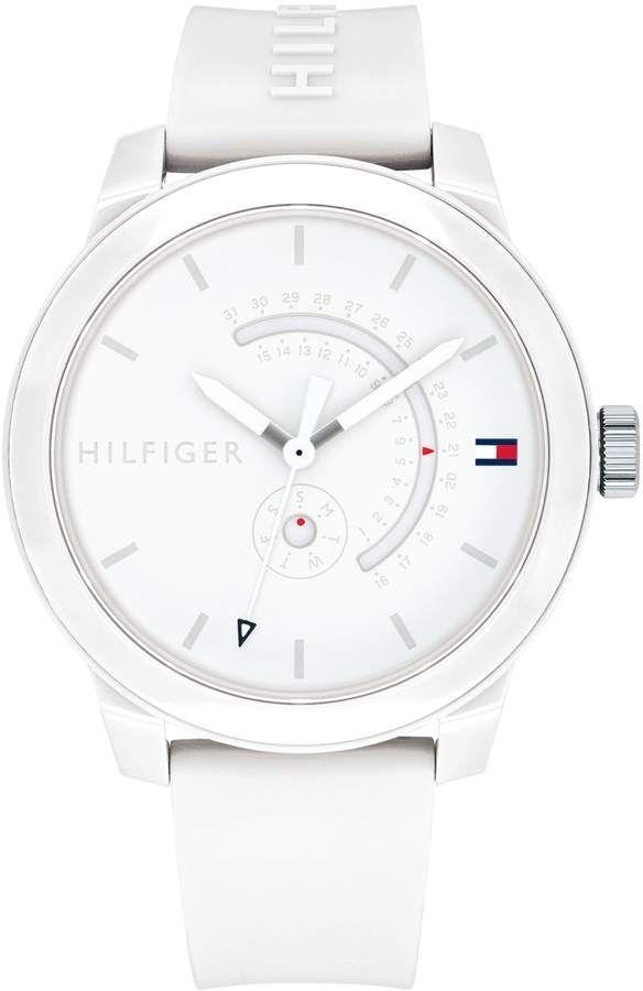 403de244d Tommy Hilfiger White Sport Watch
