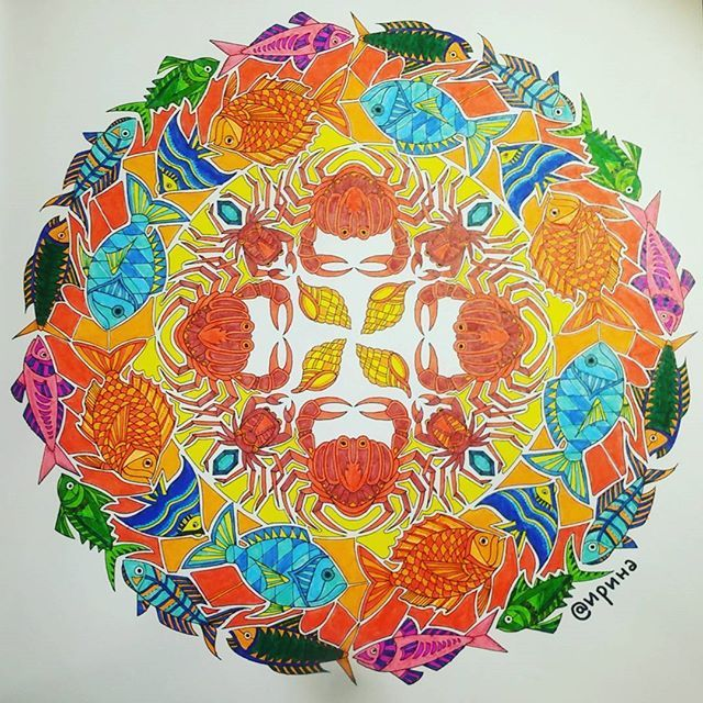LostOcean Page2 Ocean Mandala