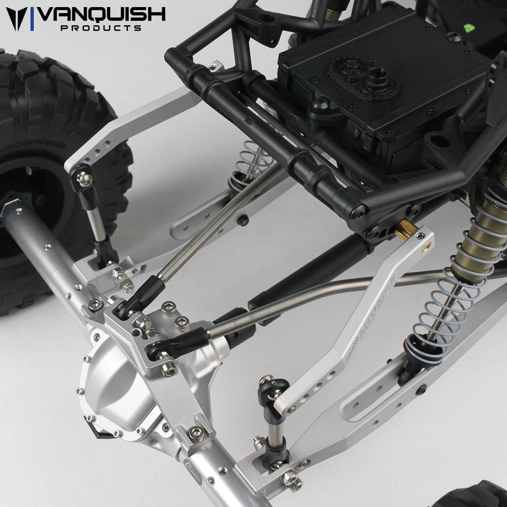 Vanquish Products - Currie Antirock Yeti Sway Bar Clear Anodized ...