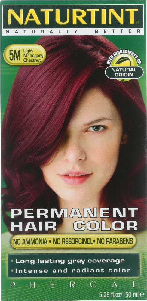 Naturtint Permanent Hair Color 5m Light Mahogany Chestnut 528 Oz
