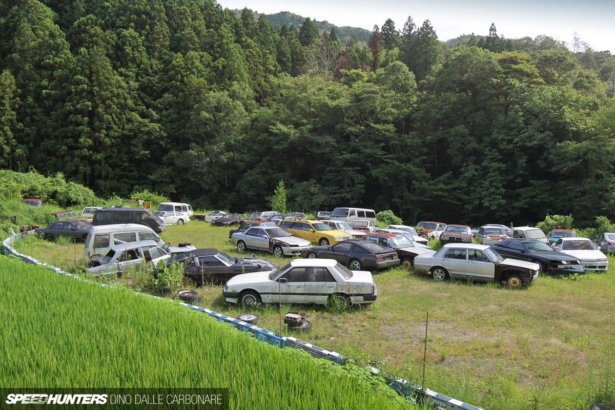 Kyusha Cemetery: Where Old JDM Cars Go To Die   Abandoned ...