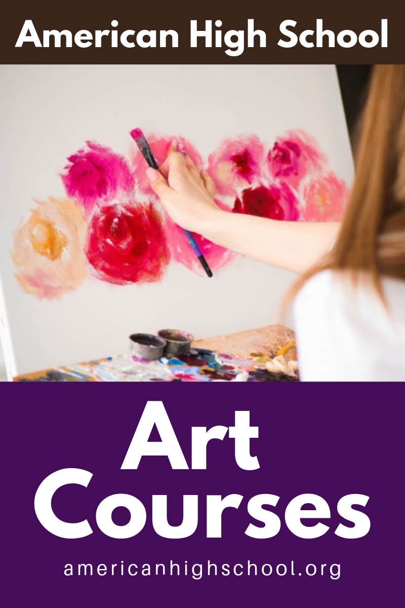 During the first semester students will gain an understanding of how art influences the quality of everyday life. They will demonstrate awareness of forms and styles in art and describe how the elements and principles are used in art to make a personal statement. #ARTCOURSES #ONLINESCHOOL, #ONLINECOURSES, #ONLINEHIGHSCHOOL, #AHSROCKS, #AMERICANHIGHSCHOOL, #AMERICANONLINEHIGHSCHOOL