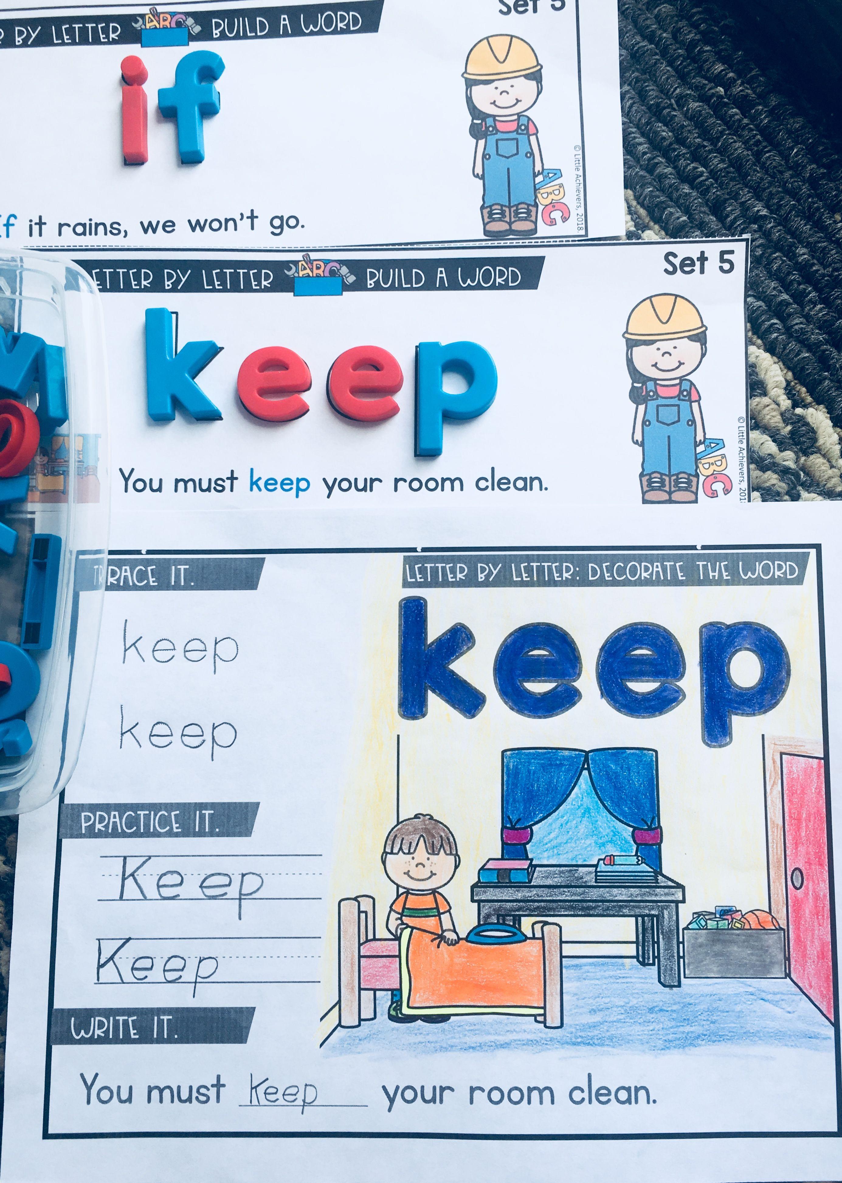 Kindergarten-First-Second-Third Grade Sight Word Activities ...