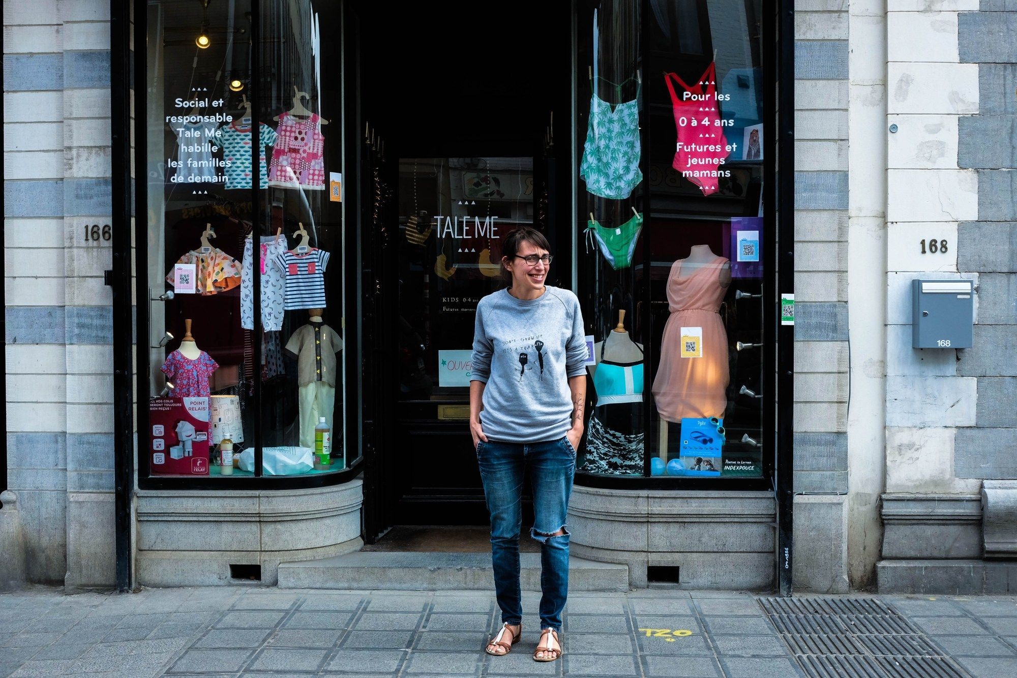 Tale me rent maternity and baby clothes in Brussels