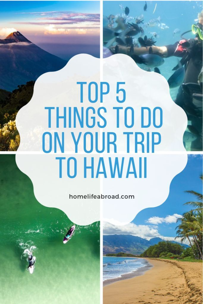 Top 5 Things to Do on Your Trip to Hawaii | Home Life Abroad Traveling to Hawaiian paradise? Here a