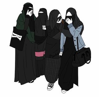 اجمل خلفيات بنات كيوت خلفيات محجبات للفيس بوك رسومات بنات منقبات 2021 Muslim Girls Hijab Cartoon Muslim