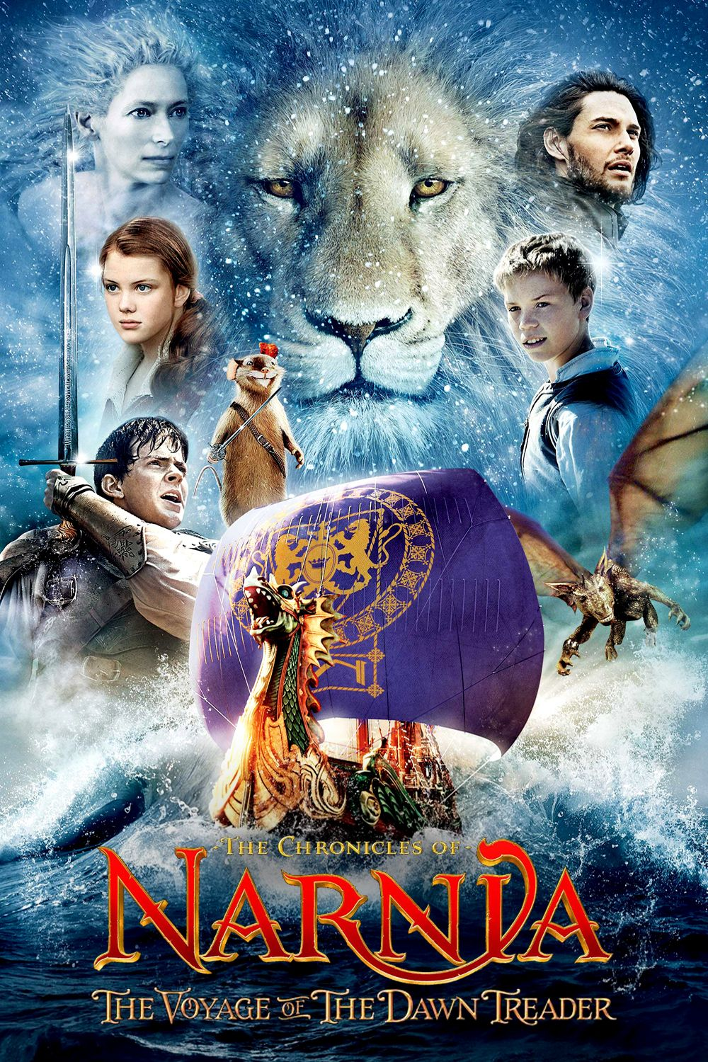 The Chronicles Of Narnia The Voyage Of The Dawn Treader 2010 Narnia Movies Narnia Fantasy Movies