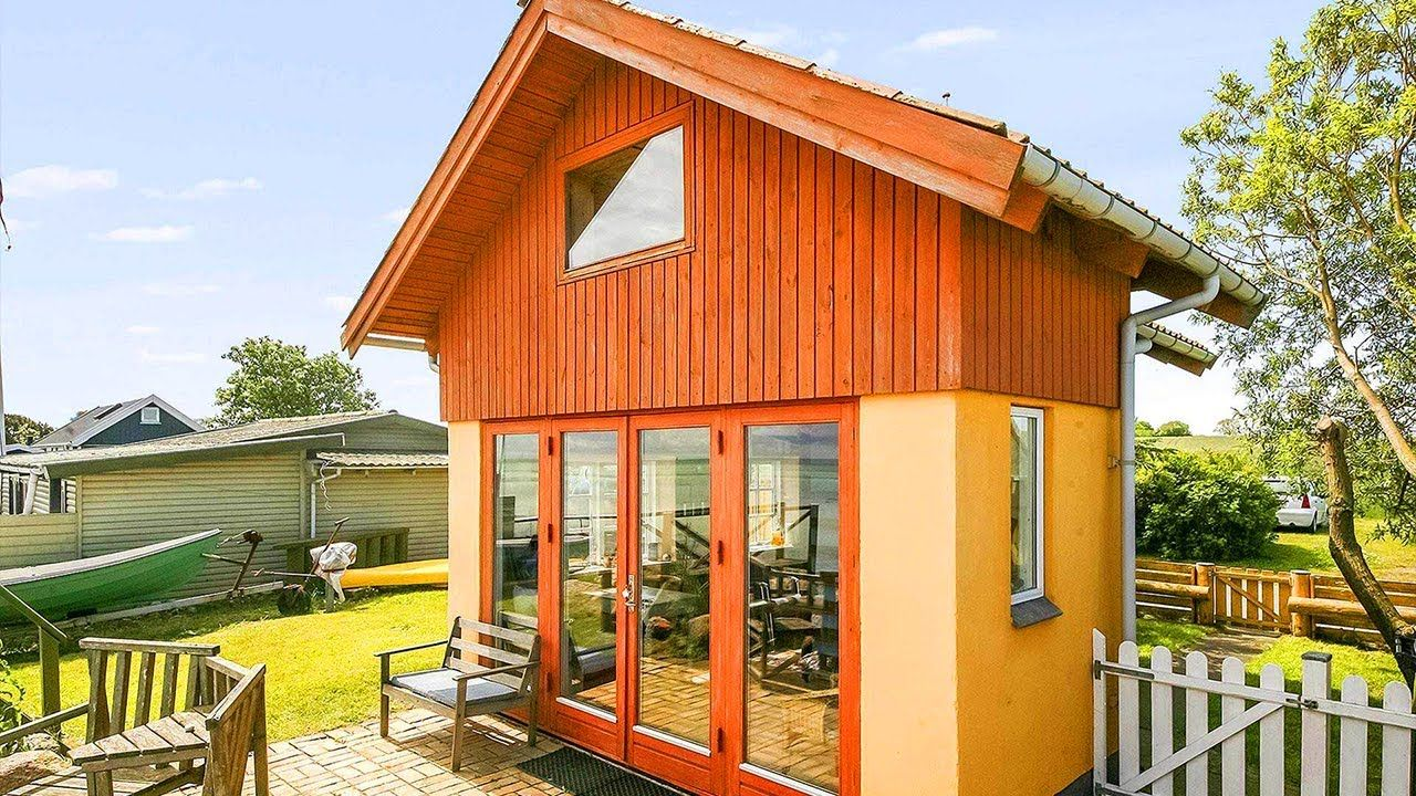 amazing tiny beachfront cottage in denmark amazing small house