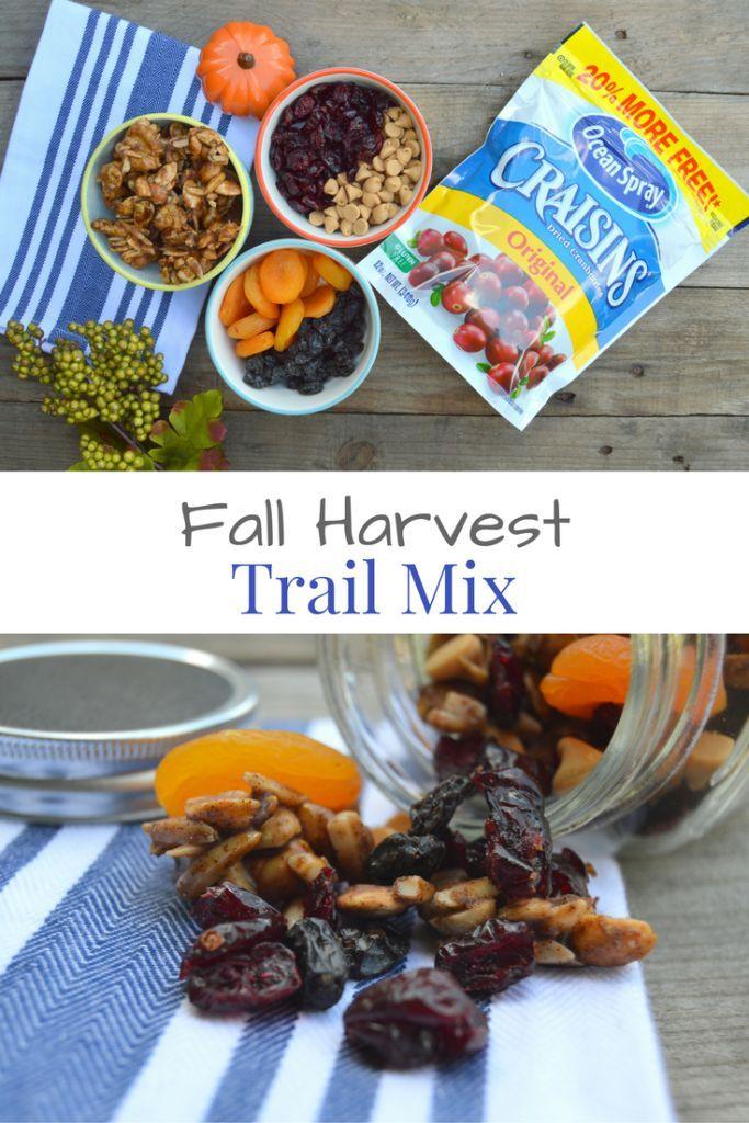 Fall Harvest Trail Mix