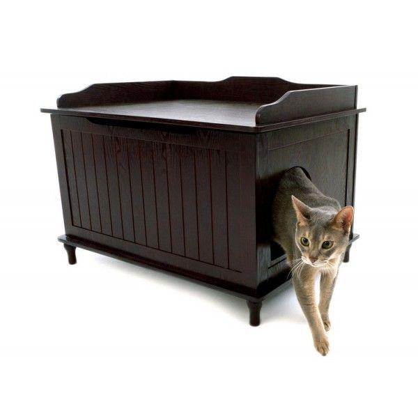 Catbox Litter Box Enclosure Catsplay Superstore Hidden Litter