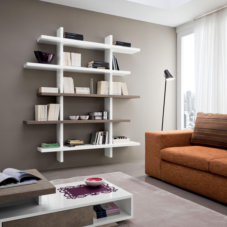 Libreria da soggiorno moderna Garnette3 Garnette3 è una ...