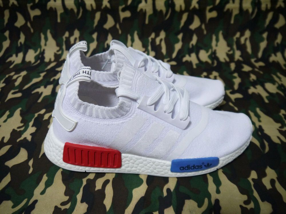huge selection of 5963a 22ad1 NEW&DS Adidas NMD R1 OG VINTAGE WHITE S79482 White Lush Red ...