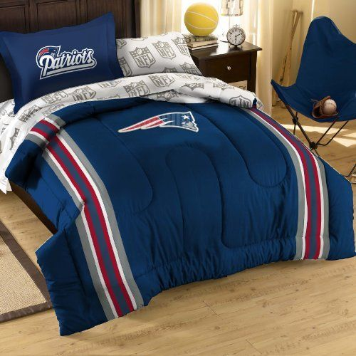Nfl New England Patriots Bedding Set By Northwest 86 99 1nfl 88100 4076 Bbb Size Full Features Material Polyester Cotton Blend
