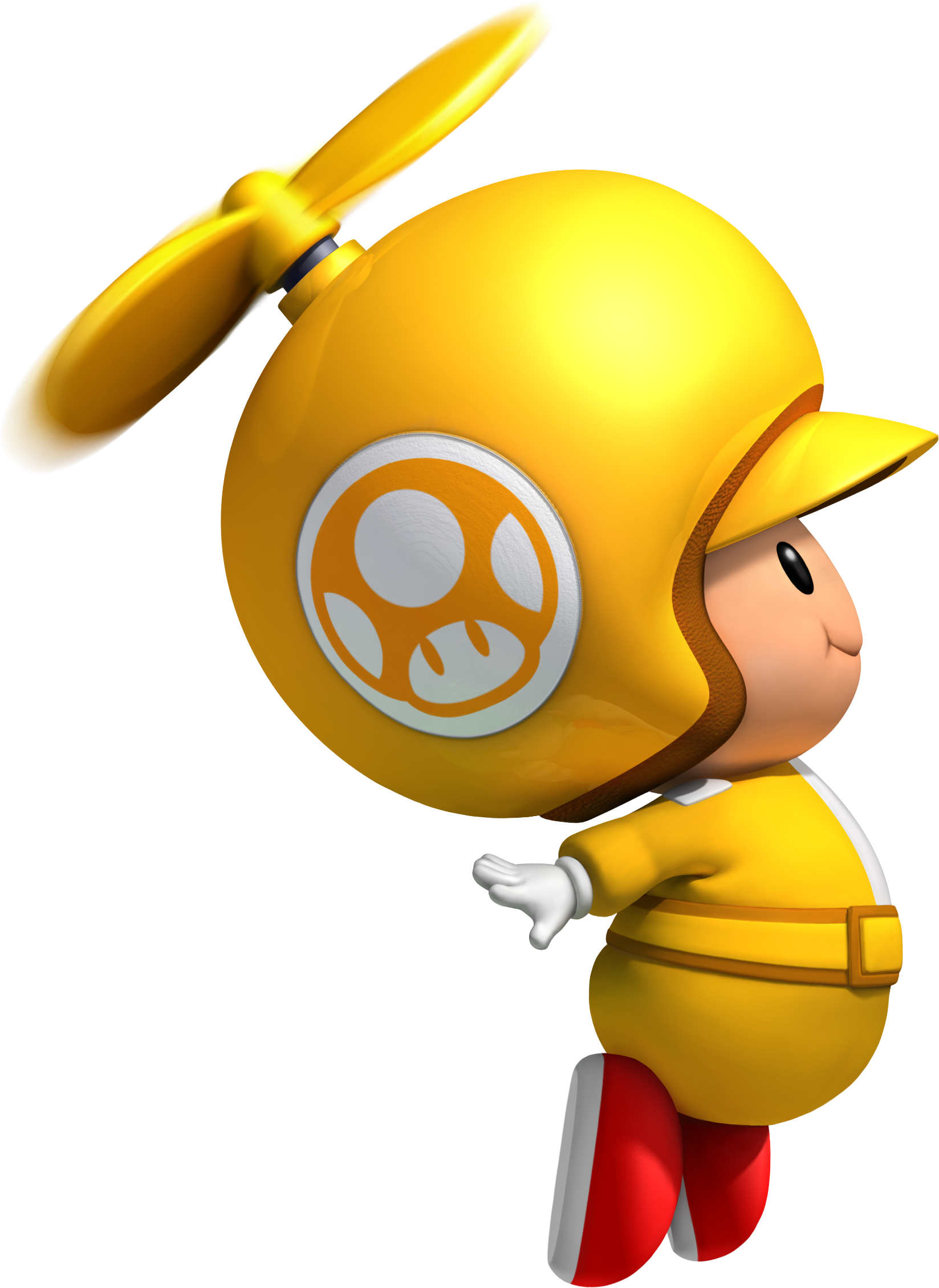 Flying Yellow Toad 3d Art Mario Bros Super Mario Bros Super Mario