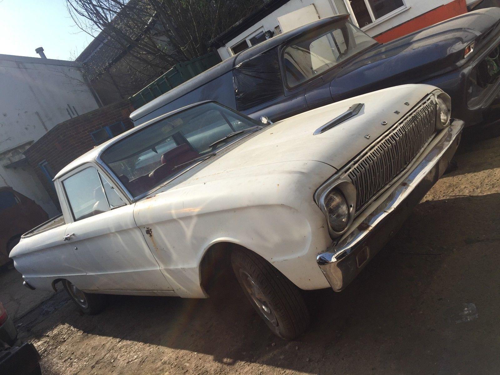 Ebay  1962 Ford Falcon Ranchero  Classiccars  Cars