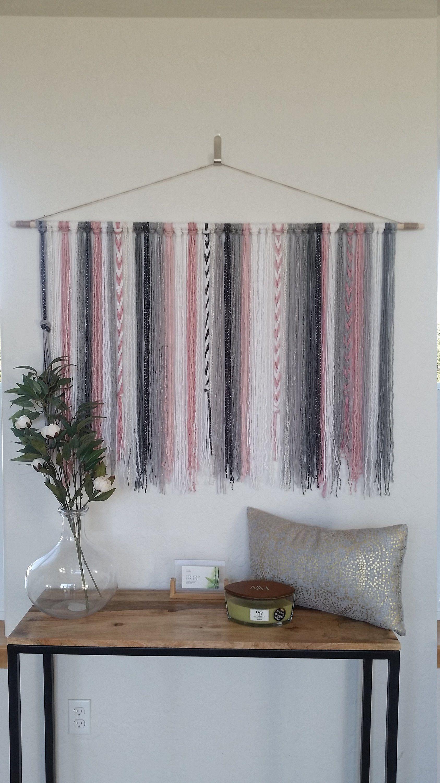 Best Tapestry Yarn Wall Hanging Yarn Tapestry Plush Pink 400 x 300
