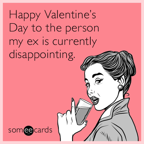 Pin By Wtf On Valentine S Day Funny Valentines Jokes Valentines Day Memes Ex Humor