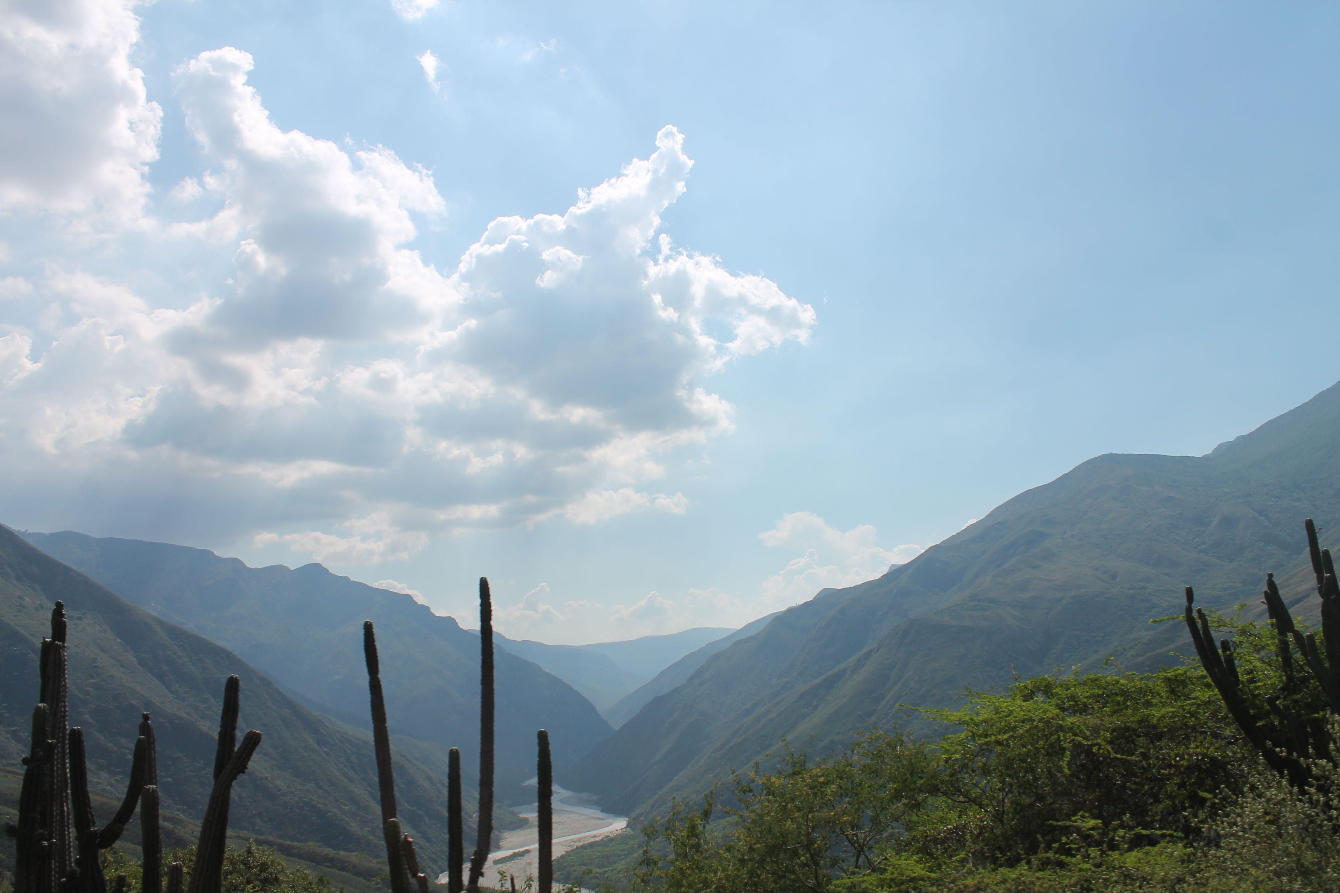 Cañón del chicamocha. Colombia