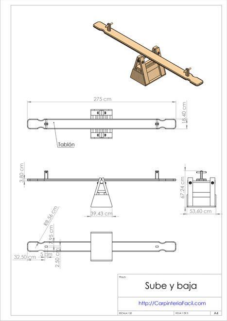 diagrama sube y baja 1 wood shop plans pinterest. Black Bedroom Furniture Sets. Home Design Ideas