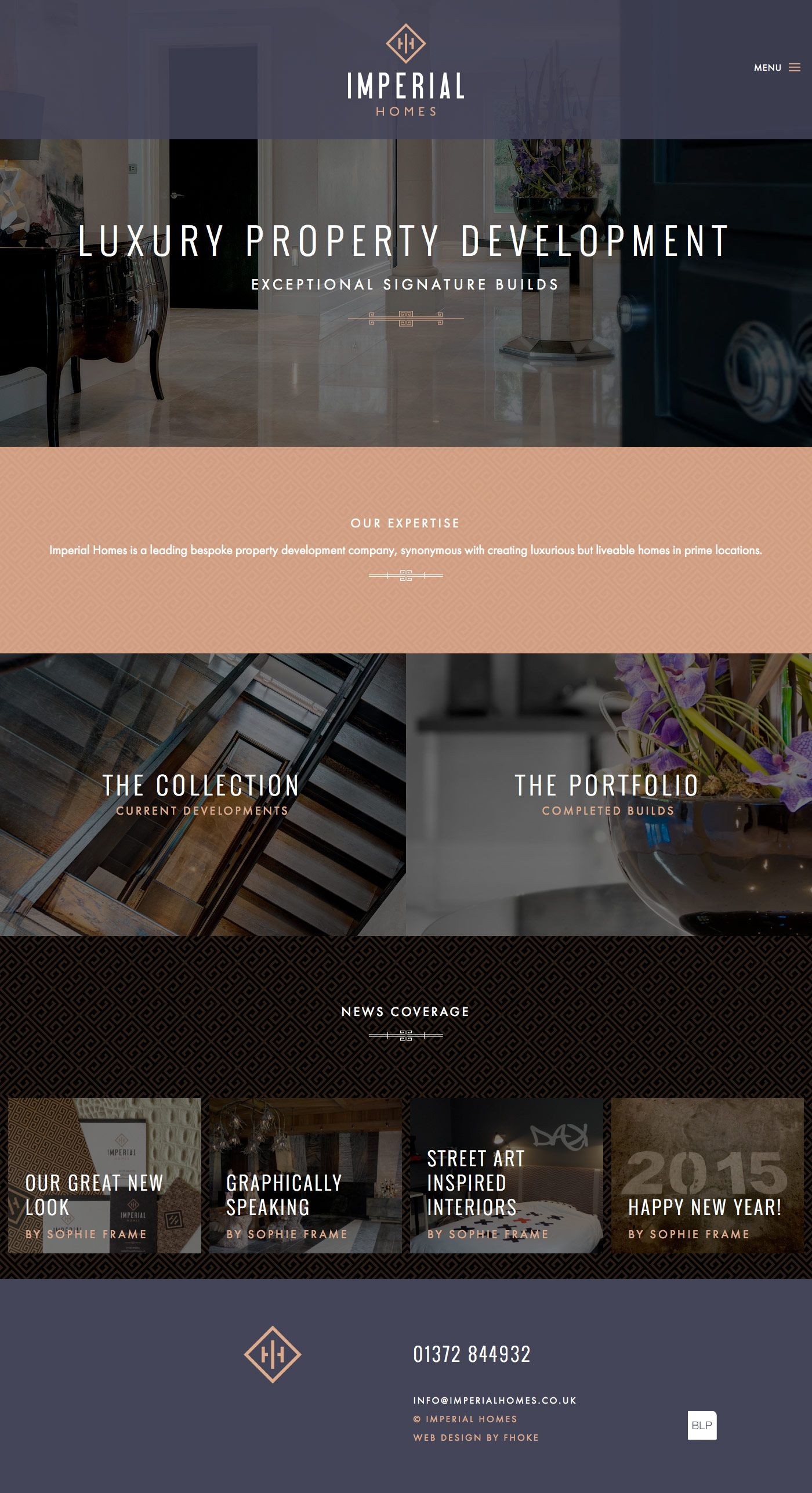 Logo design, branding and responsive WordPress website