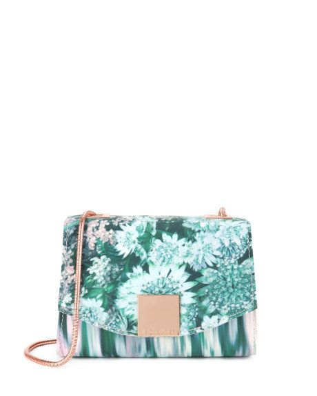 Glitch Floral Clutch Light Pink Bags Ted Baker Ted Baker