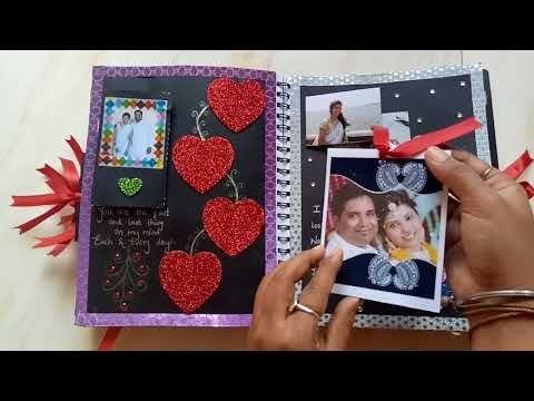 Diy Cutest Birthday Scrapbook Ideas Handmade Love